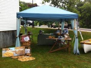At Shows - Here at Rosseau Farmers' Market